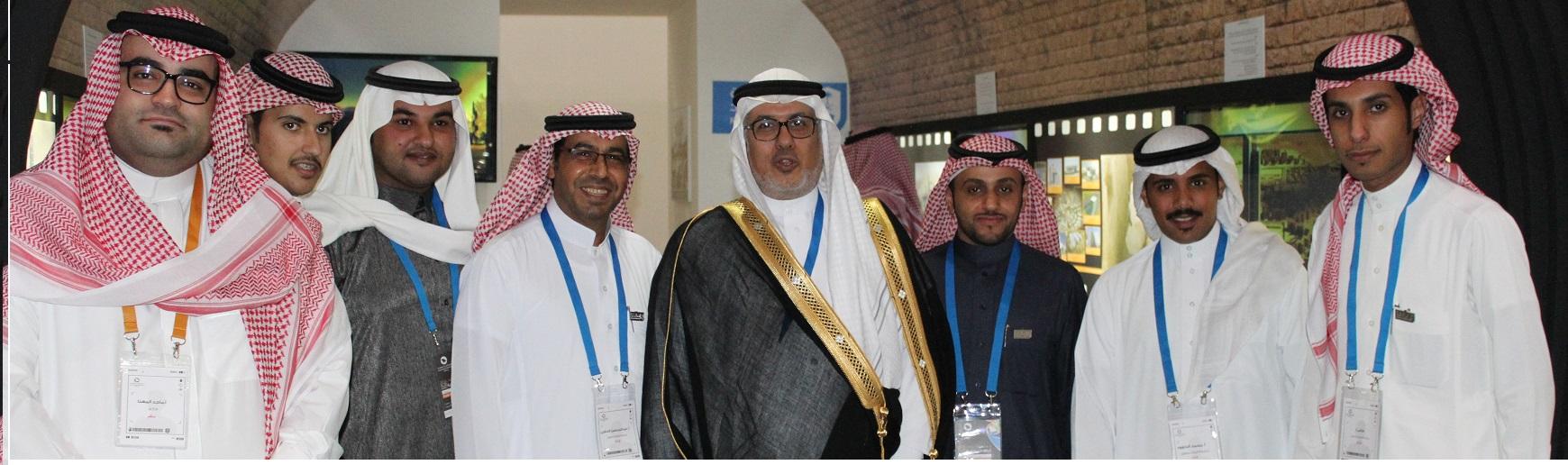 ملتقى الوان المشاركين - لقد تم تمثيل جامعة الملك...